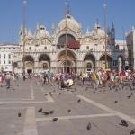 Place St-marc à Venise (italie)